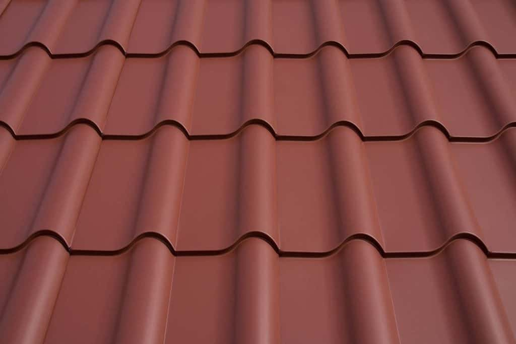 Interlock Metal Mediterranean Roof Tiles